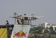 Red Bull Flugtag foto de stock