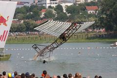 Red Bull Flugtag image stock