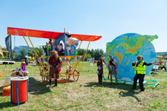 Red Bull Flugtag 2015 Photos stock