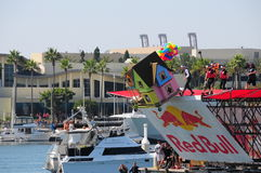 Red Bull Flugtag Event. Contest. Long Beach CA September 21st 2013 Royalty Free Stock Photos