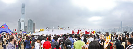 Red Bull Flugtag Hong Kong Stock Photography