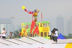 Red Bull Flugtag Hong Kong 2010 Stock Photography
