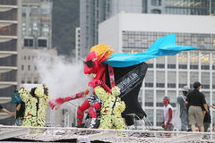 Red Bull Flugtag Hong Kong 2014 Stock Foto's