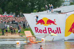 Red Bull Flugtag in Moscow 2013 Stock Images