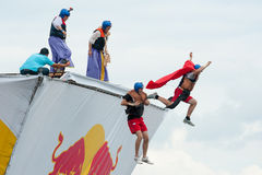 Red Bull Flugtag in Moscow 2013 Stock Photography
