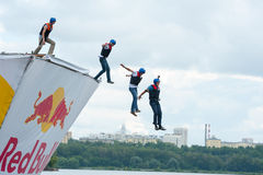 Red Bull Flugtag in Moscow 2013 Royalty Free Stock Image