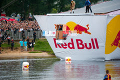 Red Bull Flugtag in Moscow 2013 Stock Image