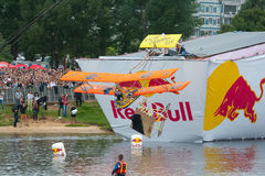 Red Bull Flugtag in Moscow 2013 Stock Photos