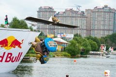 Red Bull Flugtag in Moscow 2013 Royalty Free Stock Photo