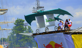 Red Bull Flugtag Varna Bulgaria 2016 Stock Photography