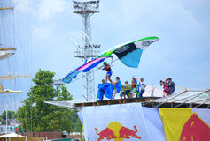Red Bull Flugtag Varna Bulgaria 2016 Royalty Free Stock Photography