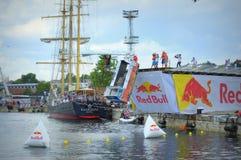 Red Bull Flugtag Varna Bulgarien 2016 Lizenzfreies Stockbild