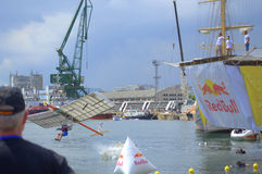 Red Bull Flugtag Varna Bulgarien 2016 Lizenzfreie Stockfotos