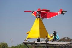Red Bull Flugtag wydarzenie przy Yarkon parkiem zdjęcie royalty free