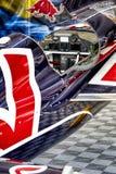 Red Bull flygplan Arkivbild