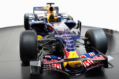 Red Bull formula 1 racing car Stock Photography