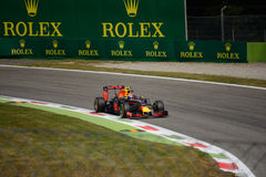Red Bull Formula 1 at Monza driven by Max Verstappen Stock Photo