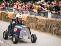 Red Bull Fred Racer 3 Images libres de droits