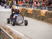 Red Bull Fred Racer Royalty Free Stock Photography