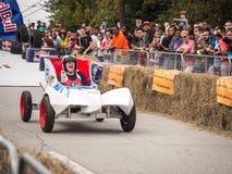 Red Bull-Geschwindigkeits-Rennläufer Lizenzfreie Stockfotos