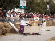 Red Bull Greek Chariot Wreck Royalty Free Stock Photography