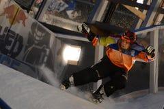 Red Bull ha schiantato la concorrenza del ghiaccio Fotografie Stock Libere da Diritti