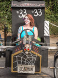 Red Bull Haunted 33 Soapbox Car Royalty Free Stock Images