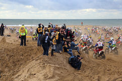 Red Bull knock out motocross in Holland Royalty Free Stock Photography