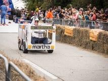 Red Bull Martha Race Team Stock Images