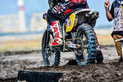 Red Bull 111 Mega Watt: Motocross and hard enduro race Royalty Free Stock Images