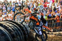 Red Bull 111 Mega Watt: Motocross and hard enduro race Stock Photography