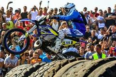 Red Bull 111 Mega Watt: Motocross and hard enduro race Royalty Free Stock Image
