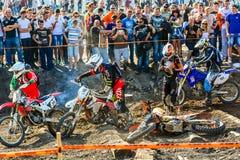 Red Bull 111 Mega Watt: Motocross and hard enduro race Stock Photo