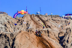 Red Bull 111 Mega Watt: Motocross and hard enduro race Royalty Free Stock Photography