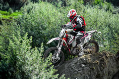 Red Bull 111 Mega Watt: Motocross and hard enduro race Royalty Free Stock Photos
