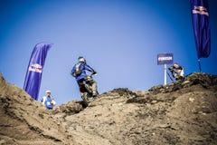Red Bull 111 Mega Watt: Motocross and hard enduro race Stock Image