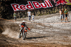 Red Bull 111 Mega Watt: Motocross and hard enduro race Stock Photo