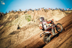 Red Bull 111 Mega Watt: Motocross and hard enduro race Royalty Free Stock Photo