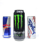 Red bull, monster, shark Royalty Free Stock Photo
