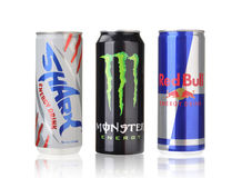 Red bull, monster, shark Royalty Free Stock Image