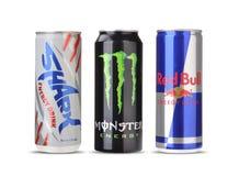 Red bull, monster, shark Royalty Free Stock Photo