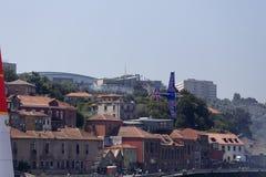 Red Bull powietrza rasa Porto Zdjęcia Stock
