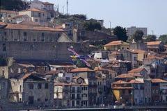 Red Bull powietrza rasa Porto Fotografia Royalty Free