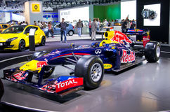 Red Bull Racing F1 Royalty Free Stock Photo