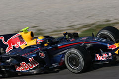 Red Bull Racing F1 royalty free stock images