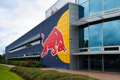 Red Bull Racing HQ Royalty Free Stock Photography