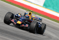 Red Bull Racing RB3 Mark Webbe Royalty Free Stock Images