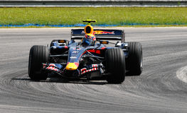 Red Bull Racing RB3 Mark Webber Australia F1 Sepan Royalty Free Stock Photo
