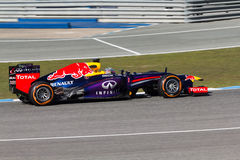 Red Bull Racing - Sebastian Vettel - 2013 Royalty Free Stock Images