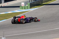 Red Bull Racing - Sebastian Vettel - 2013 Royalty Free Stock Image
